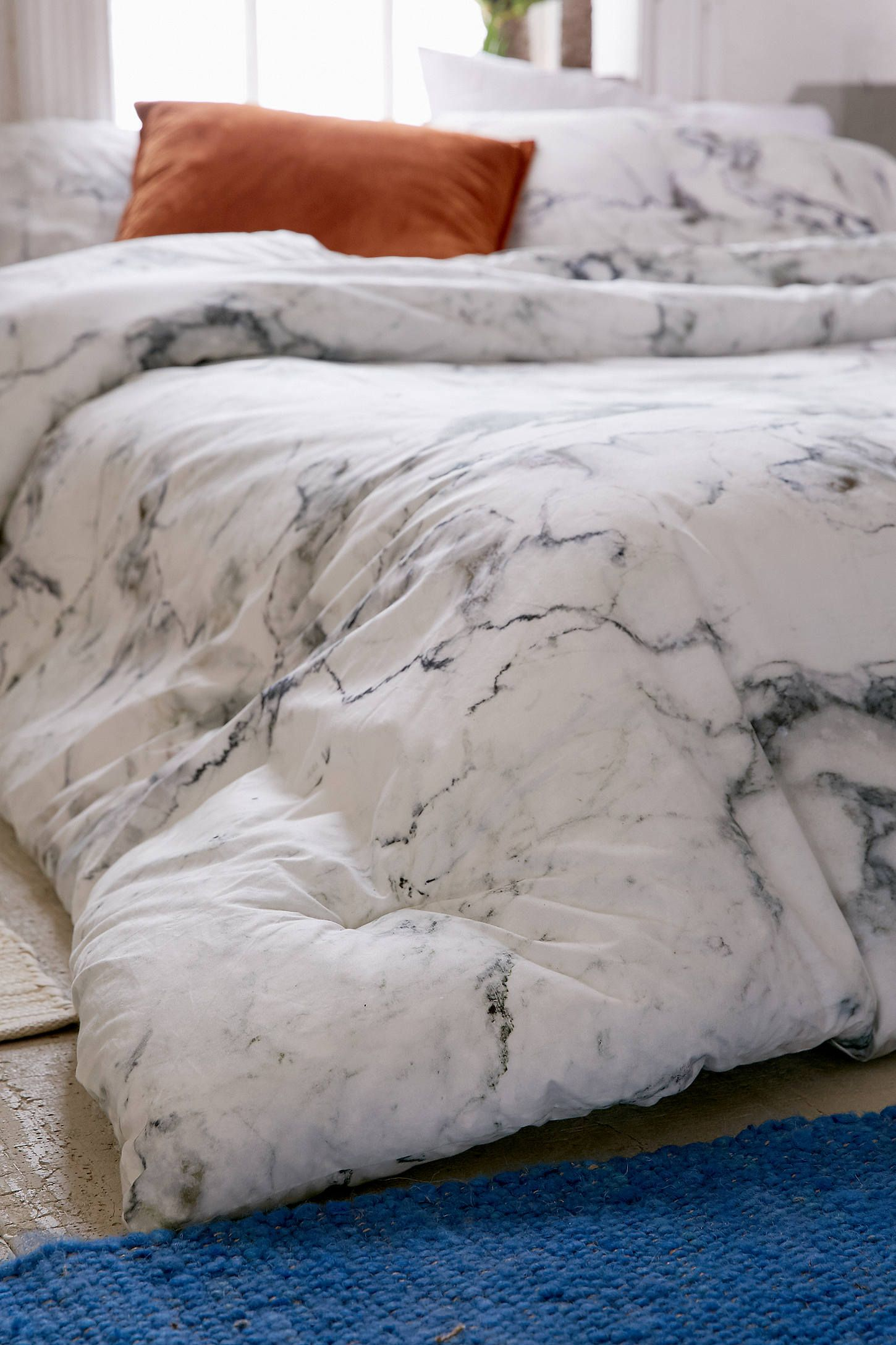 Solid Percale Cotton Sheet Set In 2019 Dorm Ideas