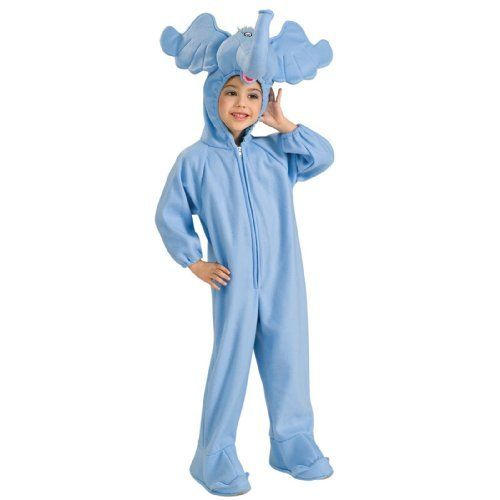 Dr Seuss Horton Hears a Who Deluxe Horton Child Costume by Rubies - dr seuss halloween costume ideas