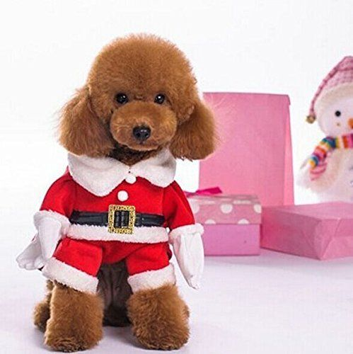 Lillypet Tm Christmas Dress Hat Clothes Santa Dog Costumes Pet Apparel New Design Dog Christmas Clothes Dog Costumes Pet Halloween Costumes