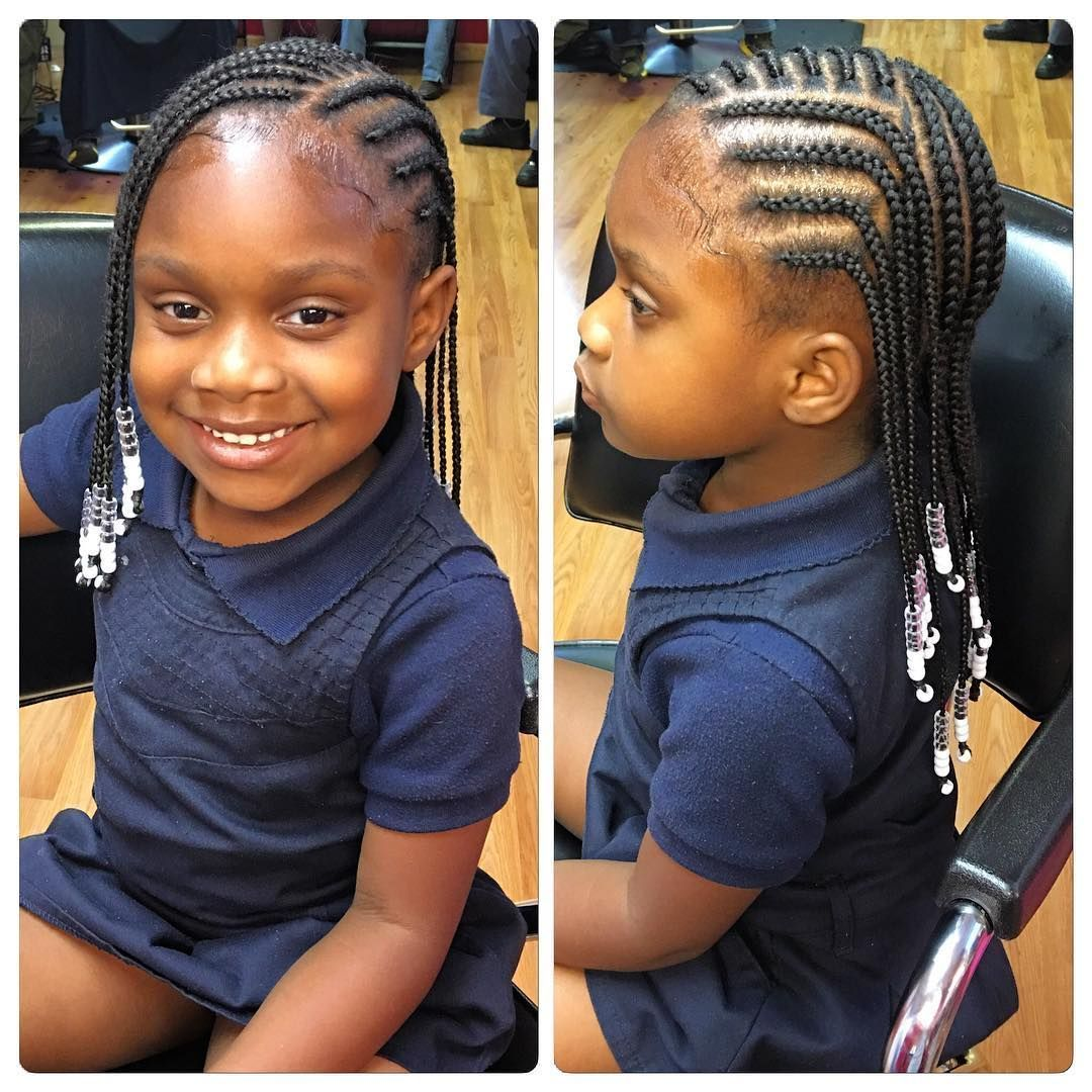 Box Braids With Beads Hair Styles Cute Hairstyles For Kids Kids Hairstyles