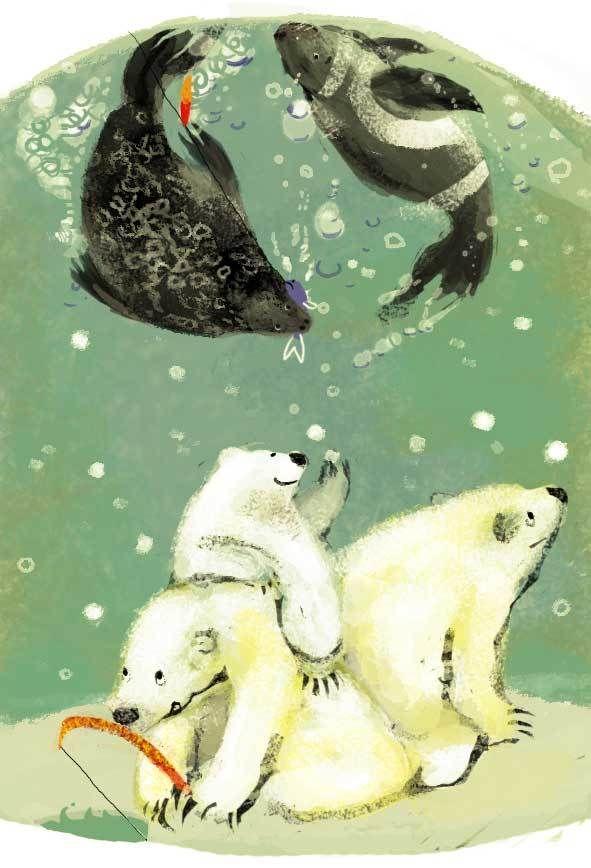 2010 illustration by ももろ ももろ, via Behance