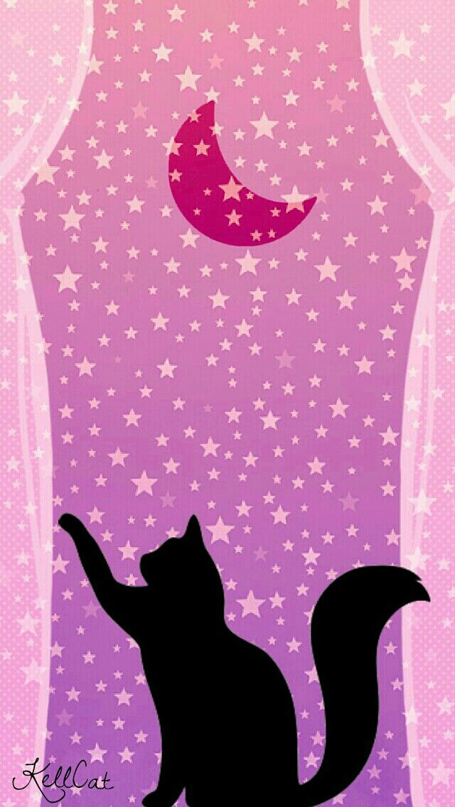Sailor Moon Luna Wallpaper With Images Kitty Wallpaper Glam
