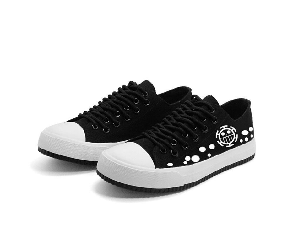 ee742279d3e94 One Piece Anime Trafalgar Law Cosplay Shoes Canvas Shoes Sneakers ...