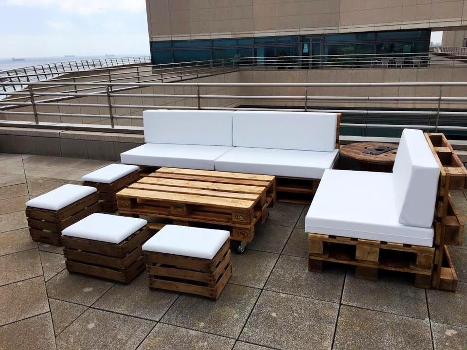 Diy pallet outdoor sofa ideas muebles de exterior de