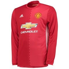 4662e9678 Jersey Manchester United Home Lengan Panjang 2017 Adidas