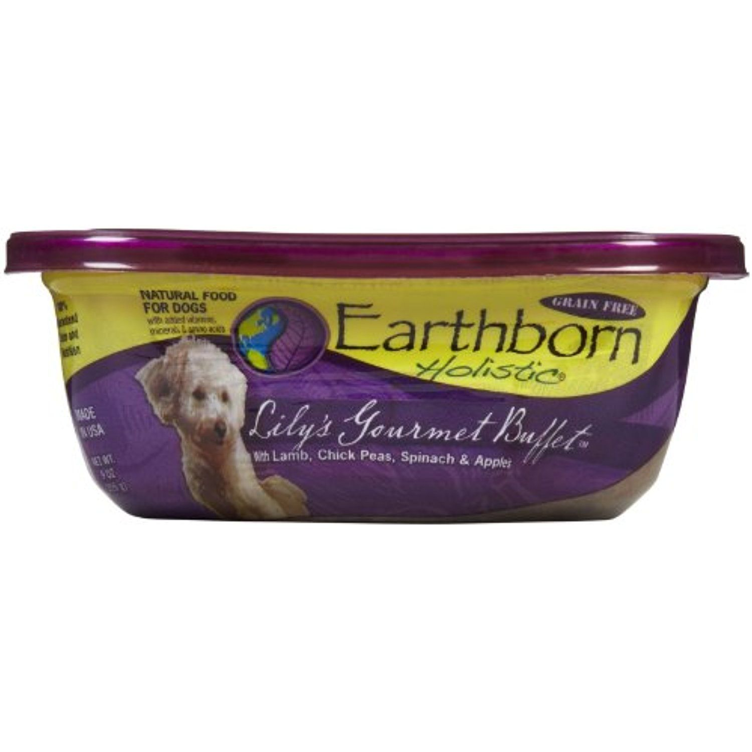 Earthborn Holistic Natural Moist Food For Dogs Grain Free Lily S
