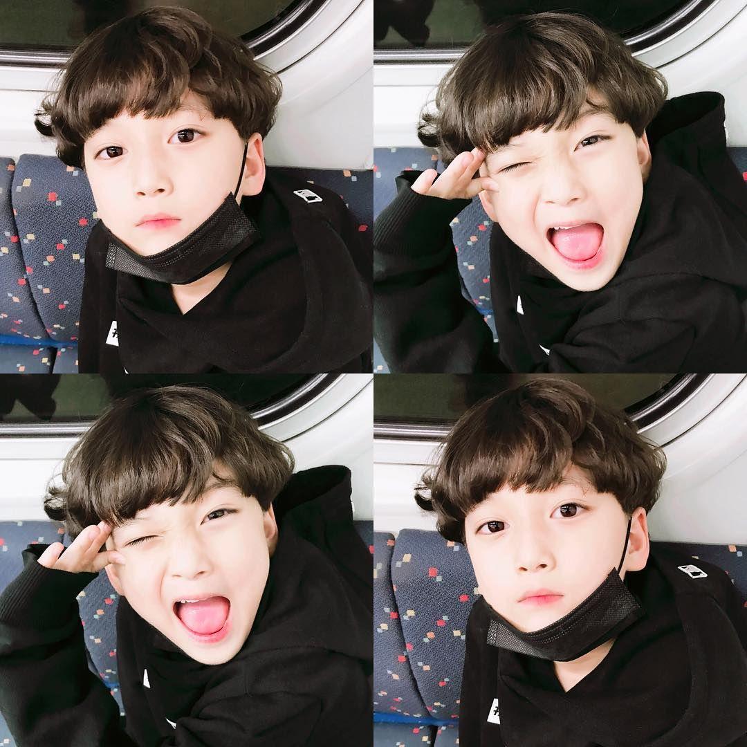 Korean baby boy hairstyle pin by kako makako on expresión facial  pinterest  ulzzang babies