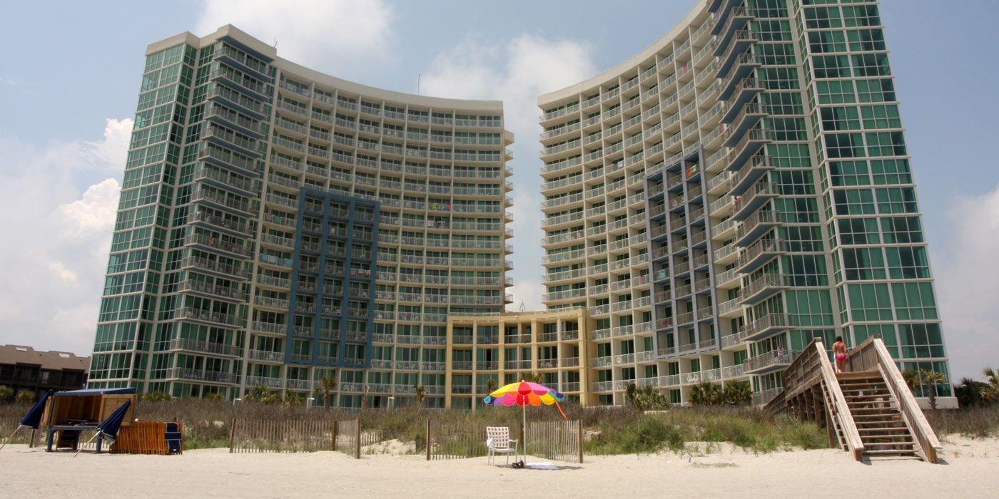 Avista Resort Oceanfront North Myrtle Beach Hotel and