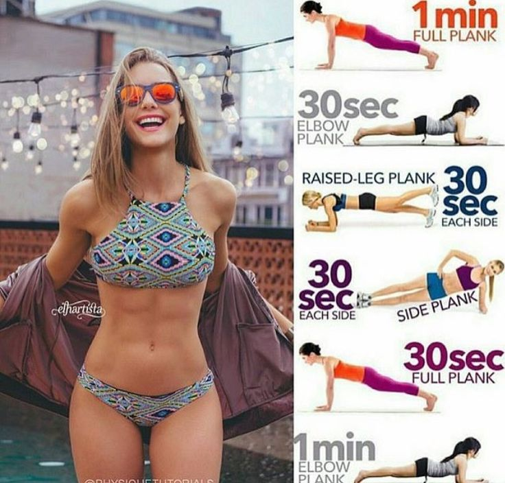 No Equipment 7 Minute Abs & Core Workout