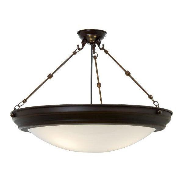 Kansa lighting bezel 1 light semi flush ceiling light £220 92 from wayfair
