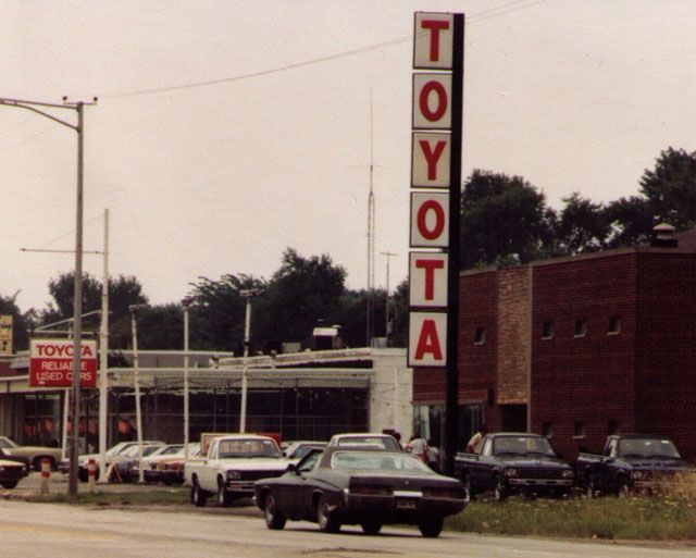 Back In 1972 At The Toyota Dealership Originally In Chicago Heights Chicago Heights Toyota Dealership Ferry Building San Francisco