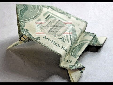 Dollar Bill Jumping Frog Tutorial Youtube Origami For The