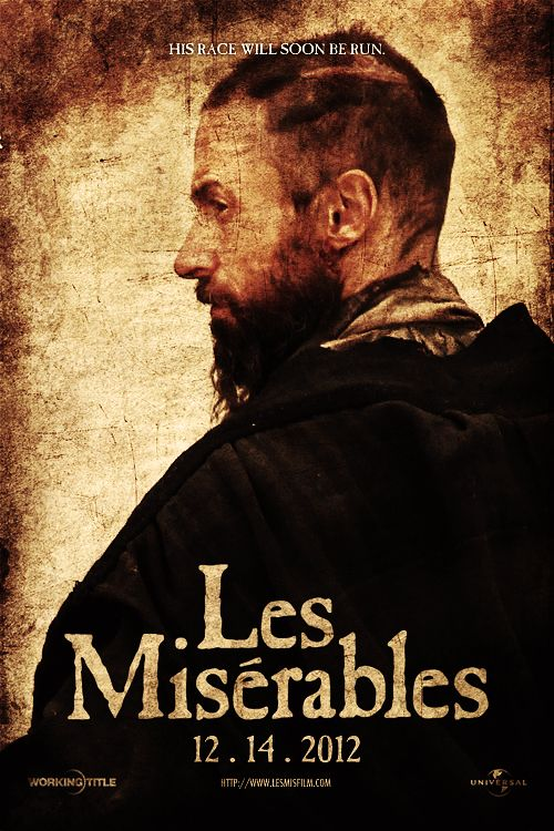 Les Miserables movie poster....can't even handle this!
