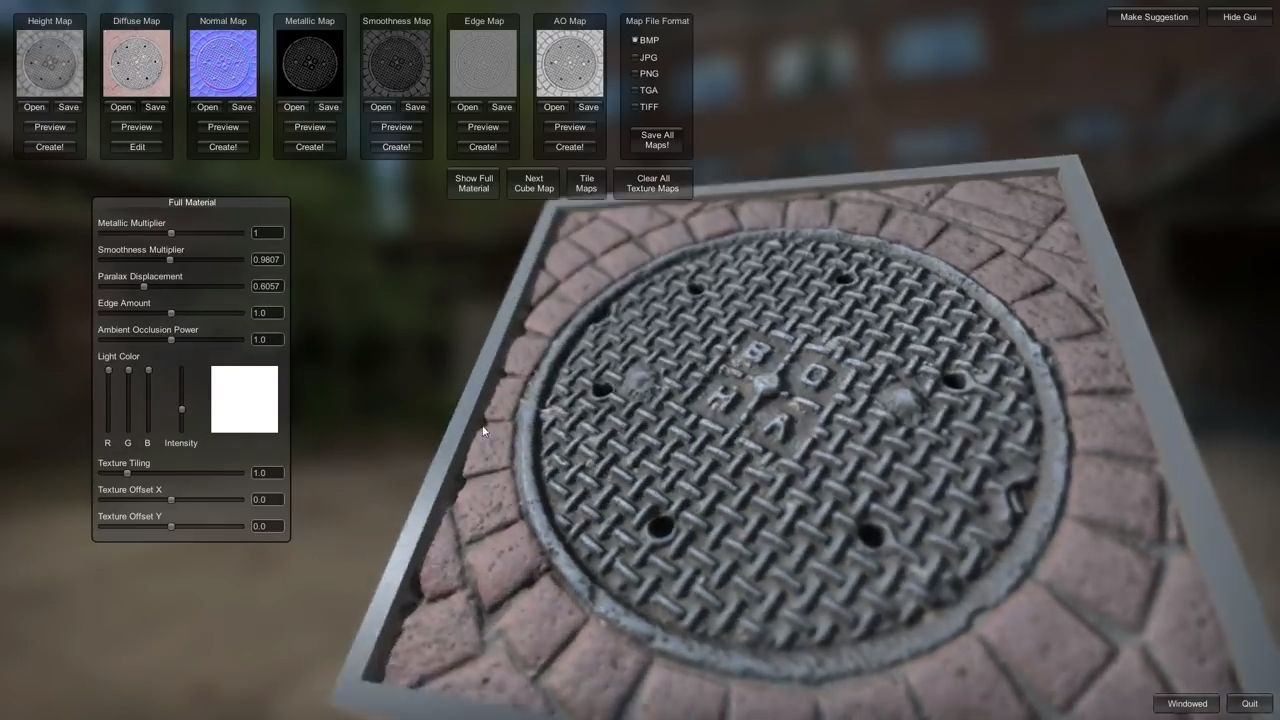 Materialize free texture generation tool Free textures