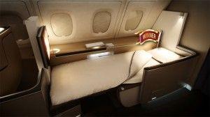 Lufthansa Has The World S Best First Class Duvet And Bedding Comfort First Class Airline Aircraft Interiors First Class Seats
