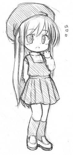 Resultado De Imagen Para Dibujo Chibi Dibujos Animes Bocetos