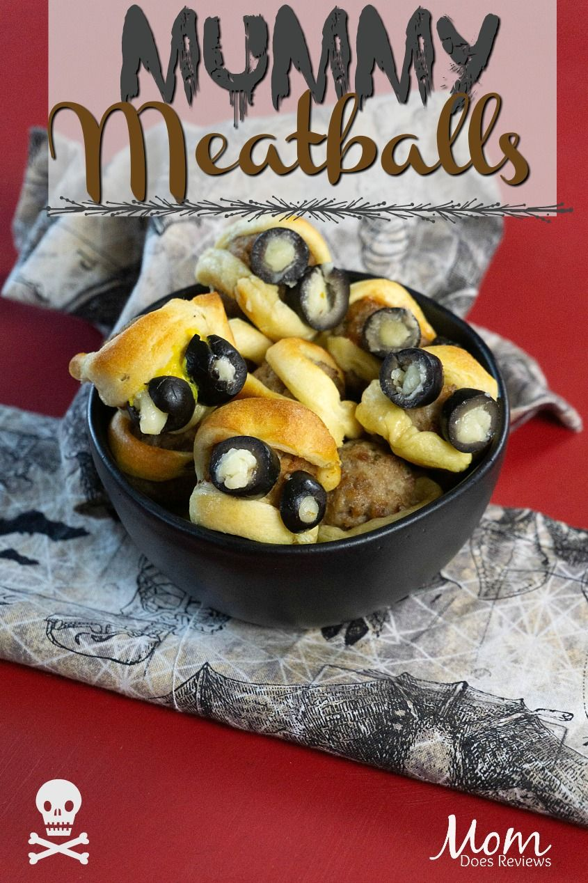Fun & Easy Mummy Meatballs Recipe Easy halloween food