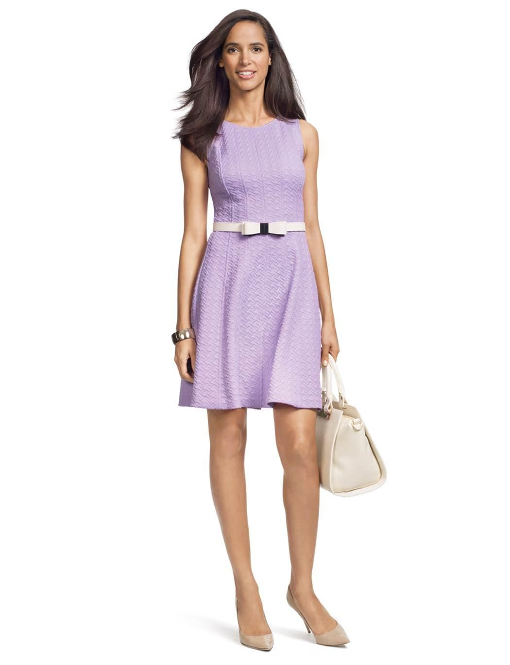 Wedding reception create this look with our textured fit u flare