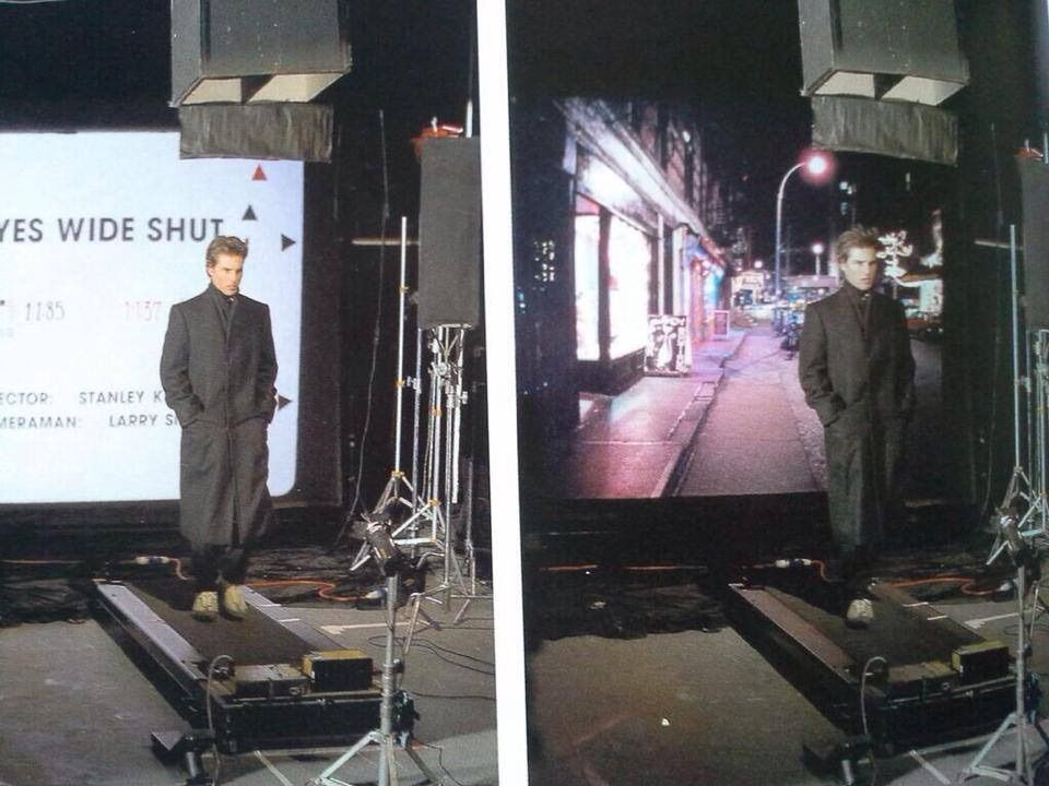 Eyes Wide Shut process shot