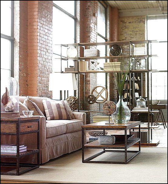 Decorating Theme Bedrooms   Maries Manor: Industrial Style Decorating Ideas    Industrial Chic Decorating Decor
