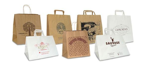 Бумажные пакеты для ресторанов   Бумажные пакеты, Ресторан ...