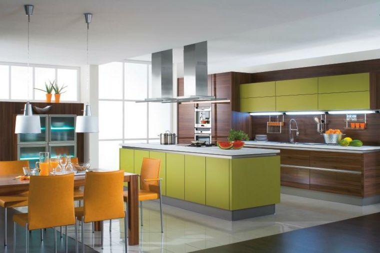 Mobili Da Cucina Arancione.Pin On Cucine