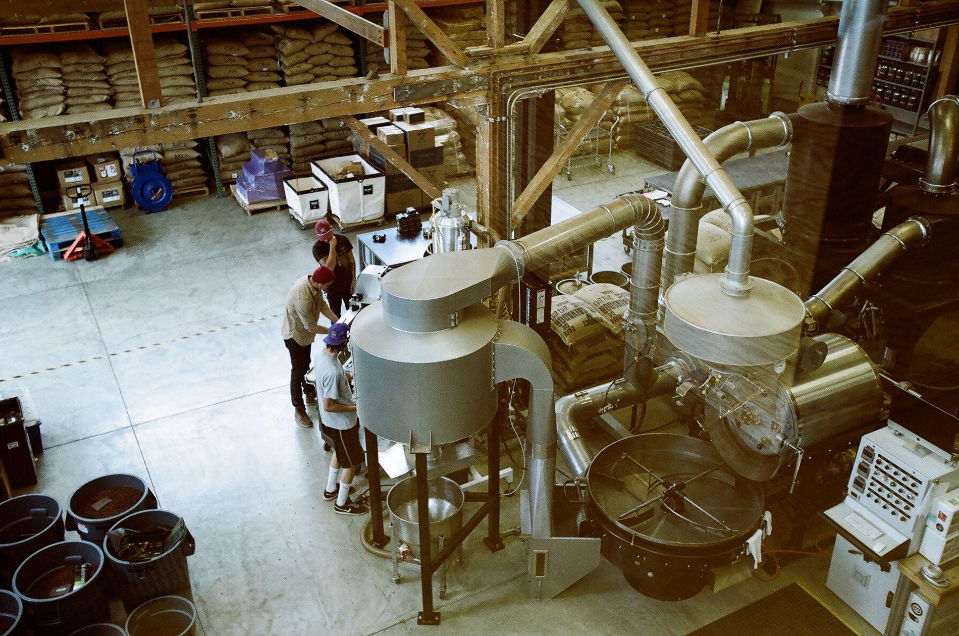 Santa cruz verve coffee roasters kinfolk