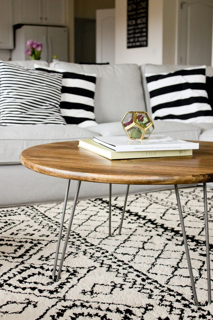 Hairpin Legs Couchtisch Diy Hairpin Leg Coffee Table For The Home Pinterest