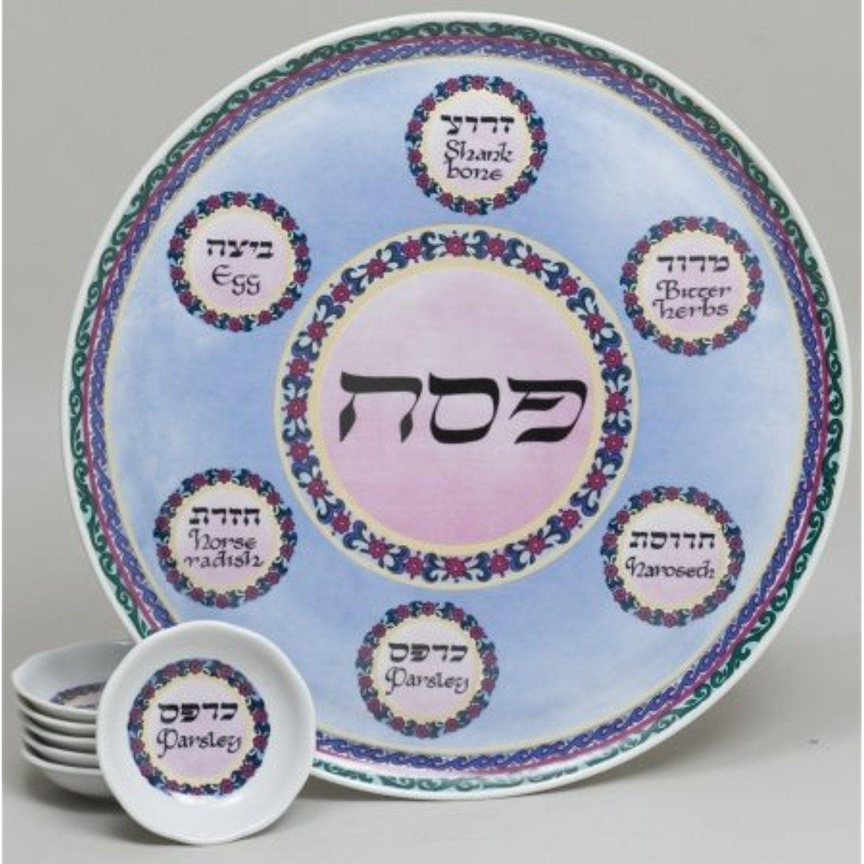 Giftmark NA-54-7 Porcelain Seder Plate