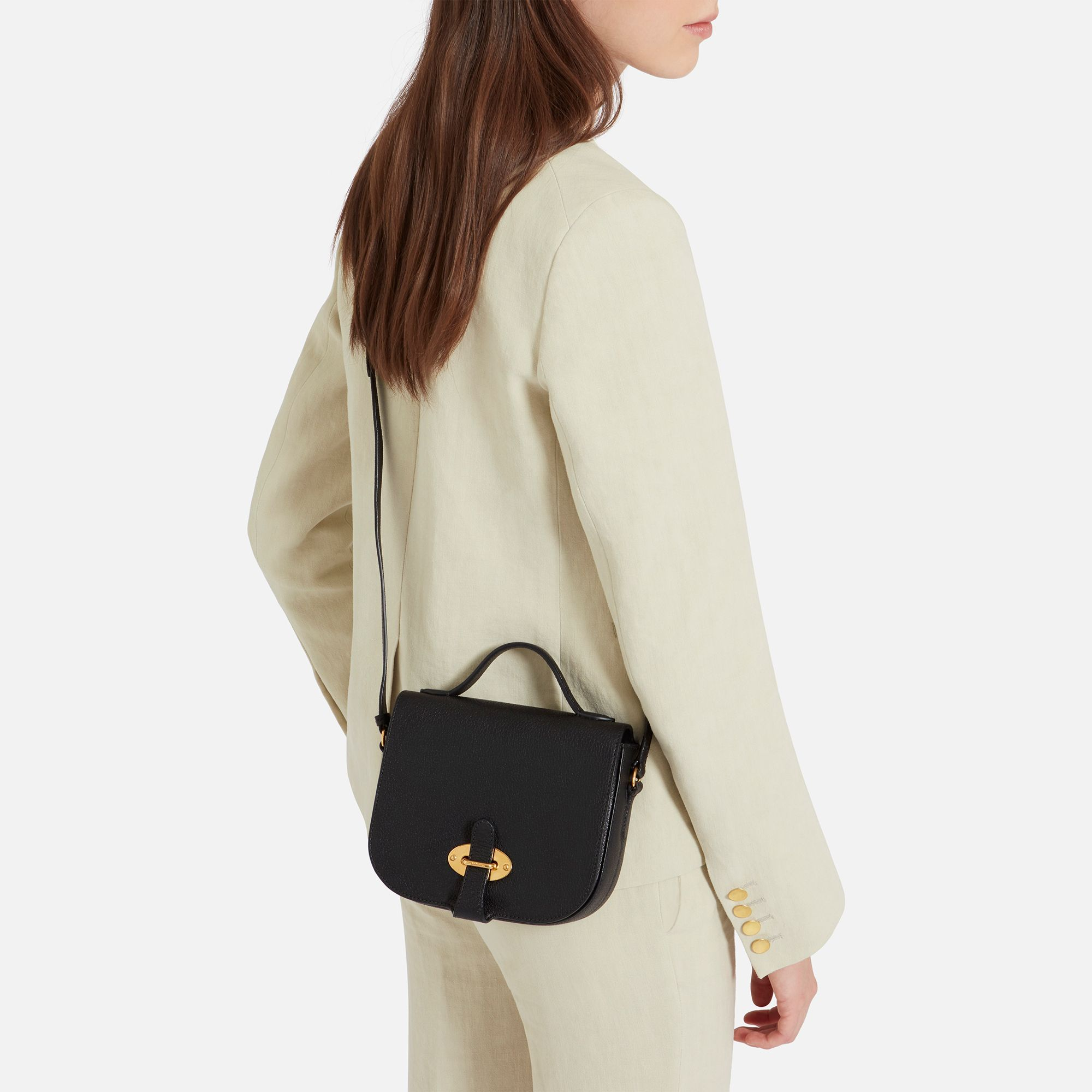 Crossbody Bag. Door Knob. Shop the Small Tenby in Black Leather at  Mulberry.com. The Small Tenby is b913d720e51