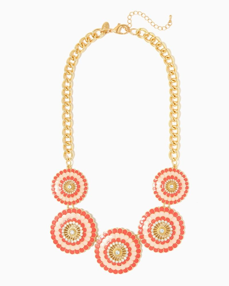 charming charlie Buttercup Cruise Necklace UPC 450900516291