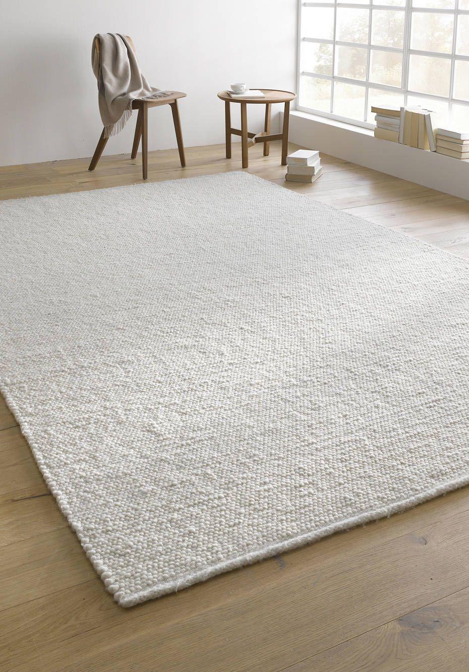 Web-Teppich Rhönschaf aus reiner Schurwolle #pflanzenimschlafzimmer