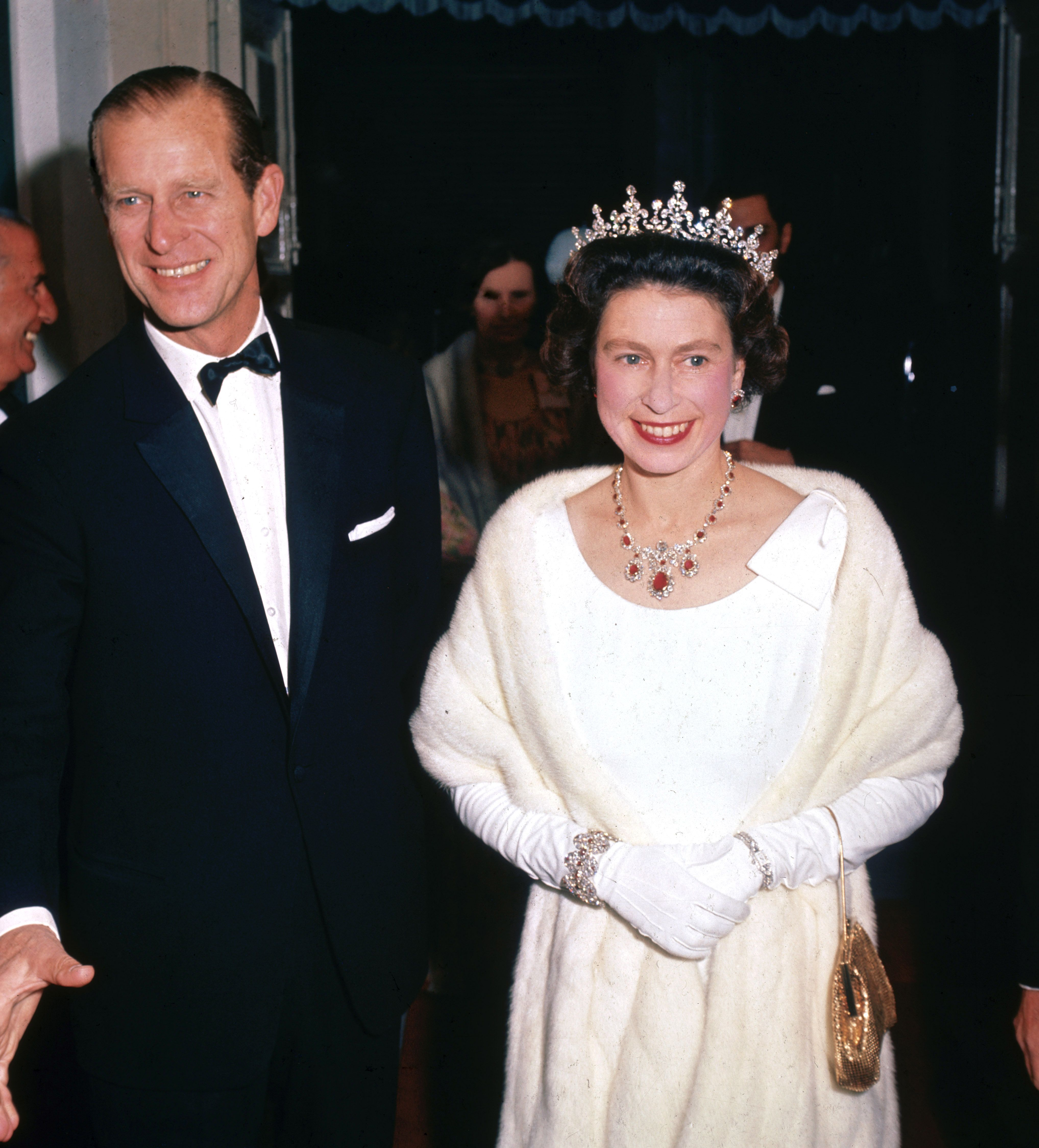 1967 Queen Elizabeth II and Prince Philip in Malta