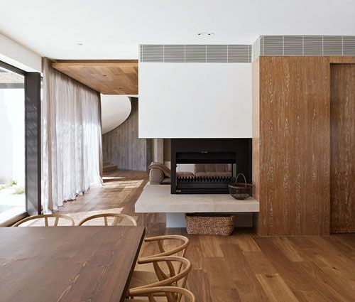 Modern Architectural Fireplaces yarra-house | modern fireplaces, fireplaces and furniture