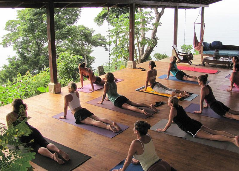 Anamaya Resort Costa Rica yoga retreat I'll be here this