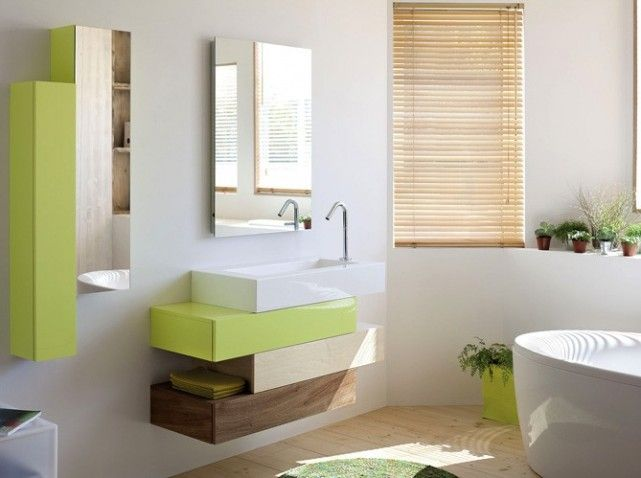 Jolie deco petite salle de bain zen | Bathroom designs and House