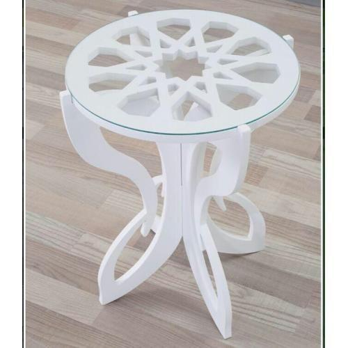 Fancy Slot Side Table