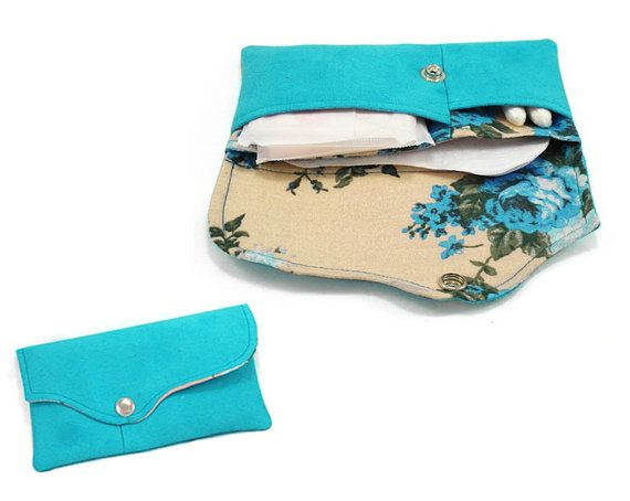 Tampon case sanitary pad holder clutch pattern di ArdenteDesign