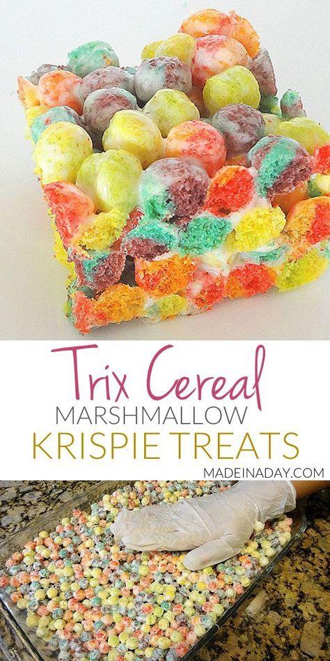 Trix Krispie Treats #marshmallowtreats