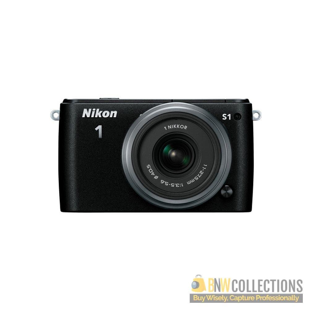 Nikon 1 S1 Zoom Digital Camera 10 30 30 110mm Lens In Pakistan Digital Camera Powershot Point And Shoot Camera