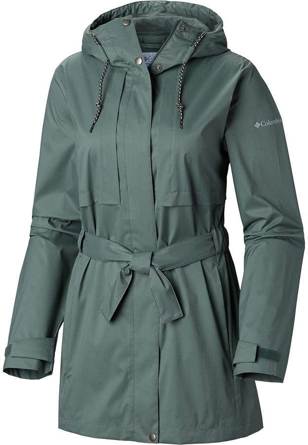 Columbia Pardon My Trench Rain Jacket Women's | Rain