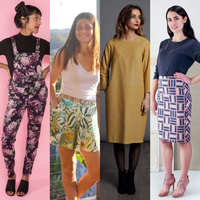 NEW Indie Sewing Pattern Round Up | Sewing patterns and Patterns