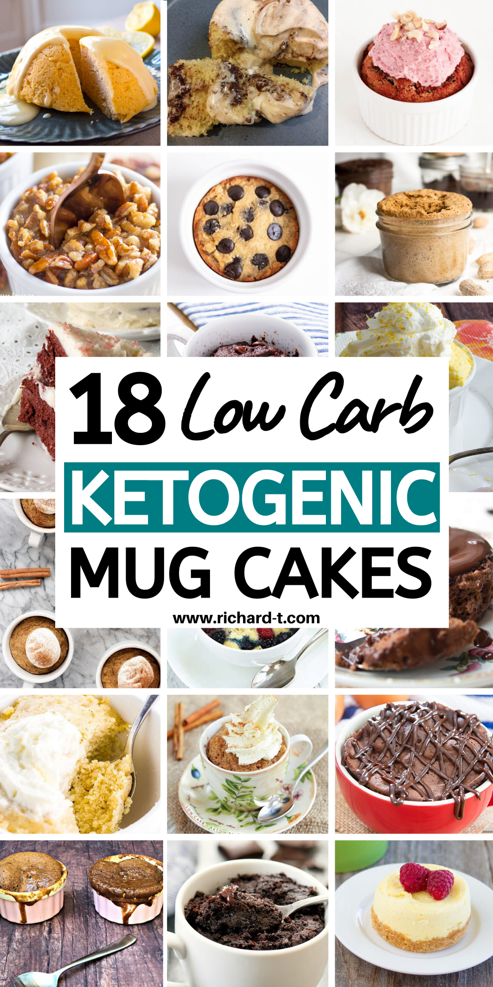 18 Low Carb Keto Mug Cakes You Need To See #mugcake