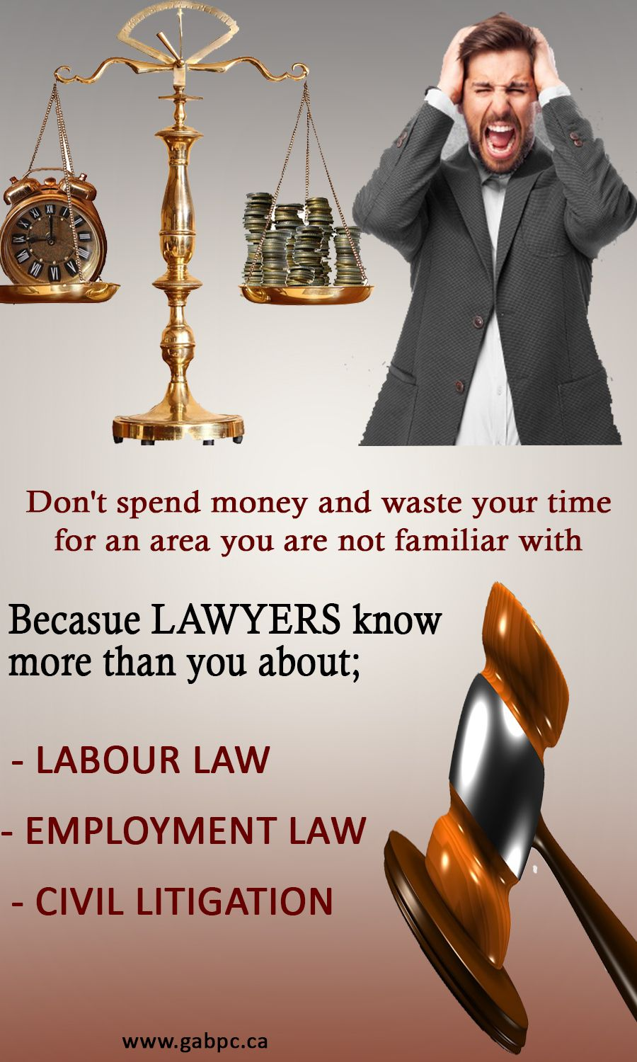 GAB Law Firm is located in Mississauga Ontario, providing