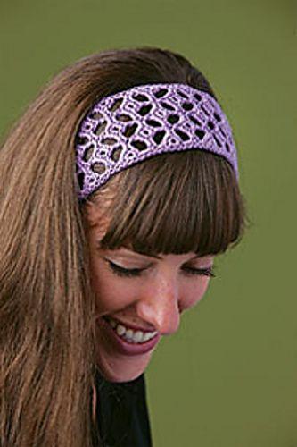 """Ella"" Headband #crochet pattern by Robyn Chachula #crochetbyfaye from Interweave Crochet Accessories 2010"