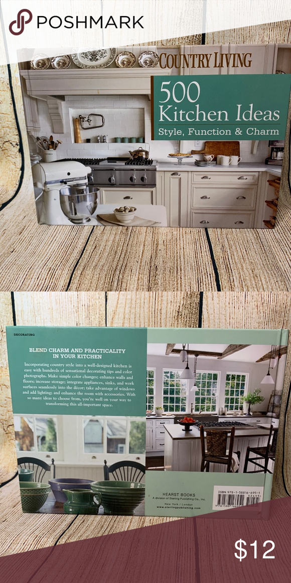 500 Kitchen Ideas Country Living Book Country Kitchen Living Books Coffee Table Books