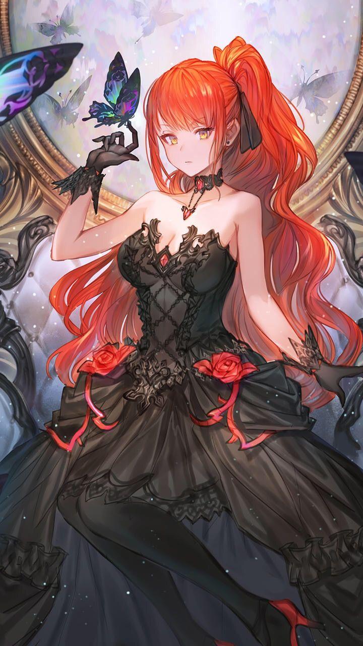 Follow đê in 2020 Red hair girl anime, Red hair anime