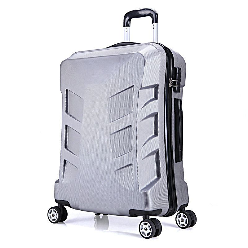b62d080f1 New Men and Women Travel Suitcase Cool Fashion Transformers Luggage ABS PC  Universal Wheels Trolley Luggage