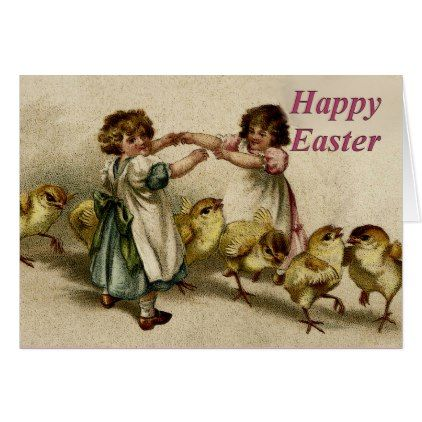 Happy easter family sisters greeting card negle Gallery