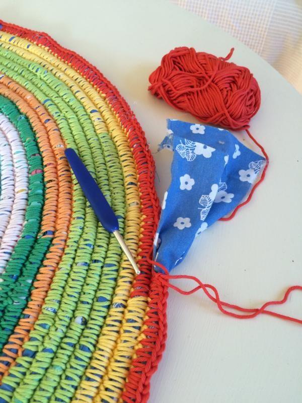 Großprojekt Teppich Häkeln Basteln Pinterest Ganchillo